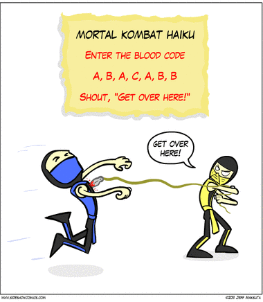 Mortal Combat Haiku - from Sideshow Comics